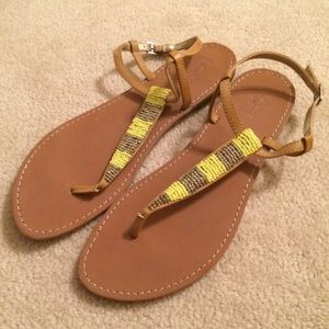 LOFT sandals (yellow and gold)